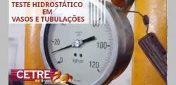 Curso Teste Hidrostático em Vasos e Tubulações